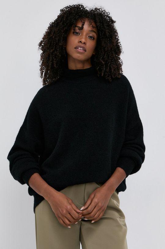 černá Samsoe Samsoe - Vlněný svetr