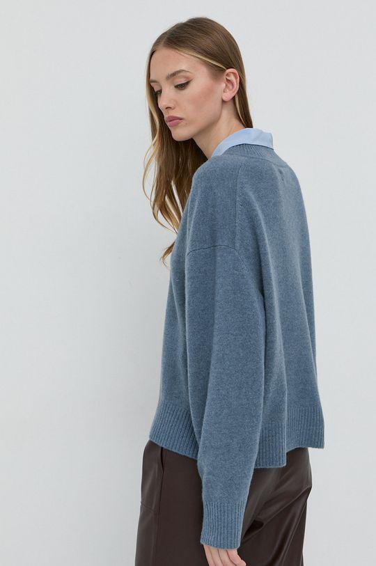 Samsoe Samsoe - Sweter wełniany 100 % Wełna