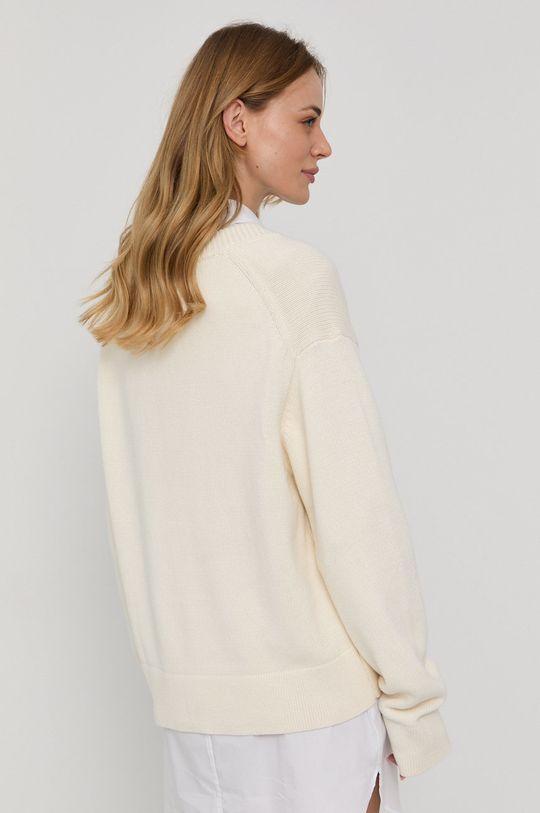 Samsoe Samsoe - Sweter 15 % Wełna, 85 % Bawełna organiczna