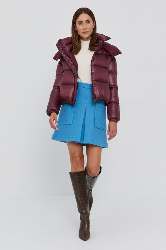 Boss - Sweter kremowy