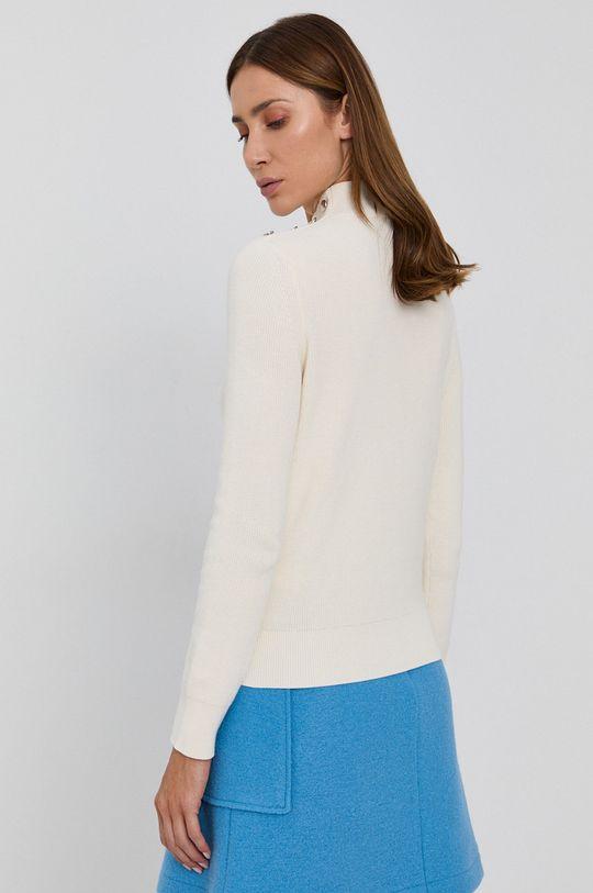 Boss - Sweter 90 % Bawełna, 10 % Jedwab