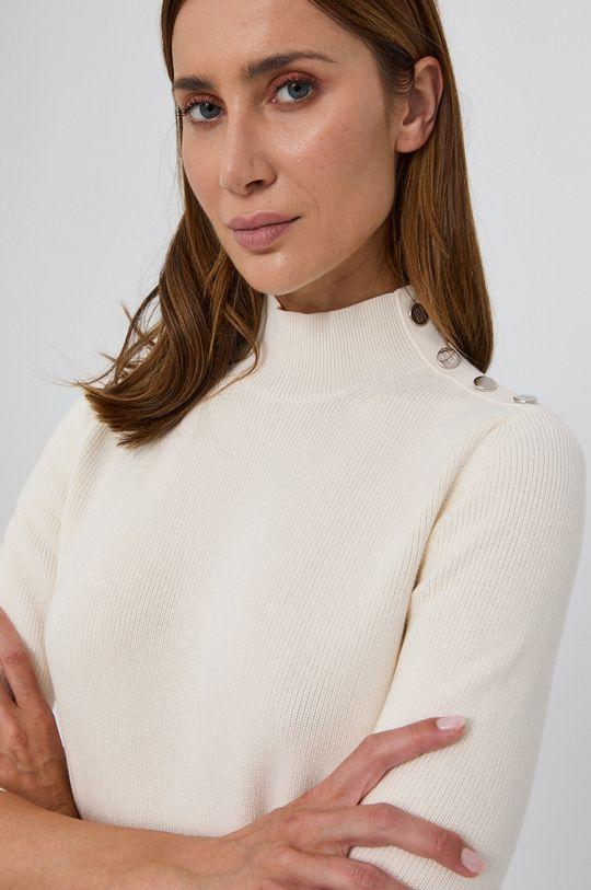 kremowy Boss - Sweter