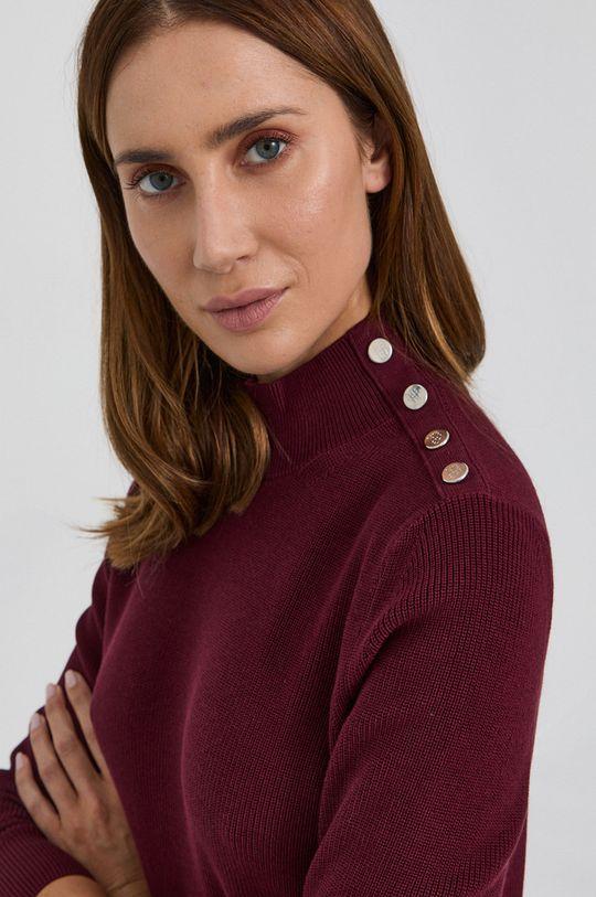 kasztanowy Boss - Sweter