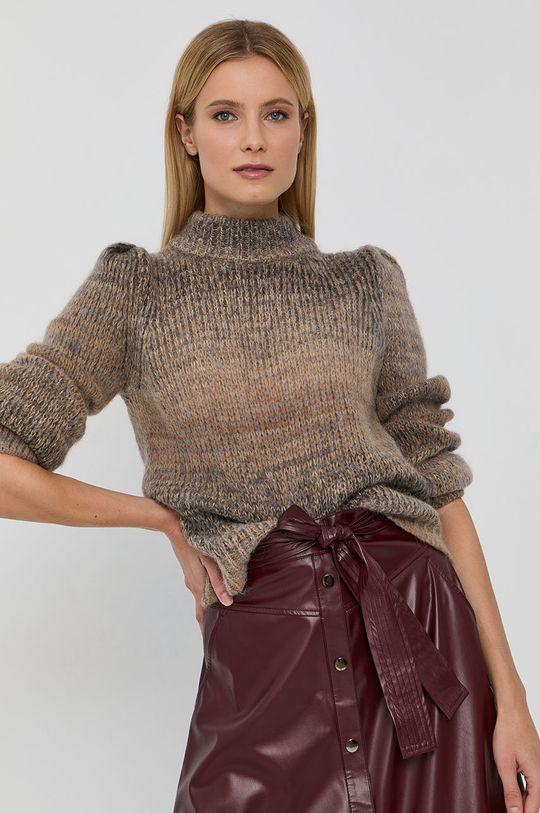 bej Liu Jo - Pulover din amestec de lana De femei