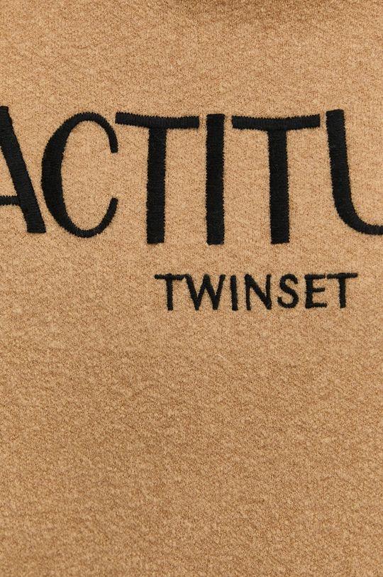 Twinset - Sweter z domieszką wełny Damski