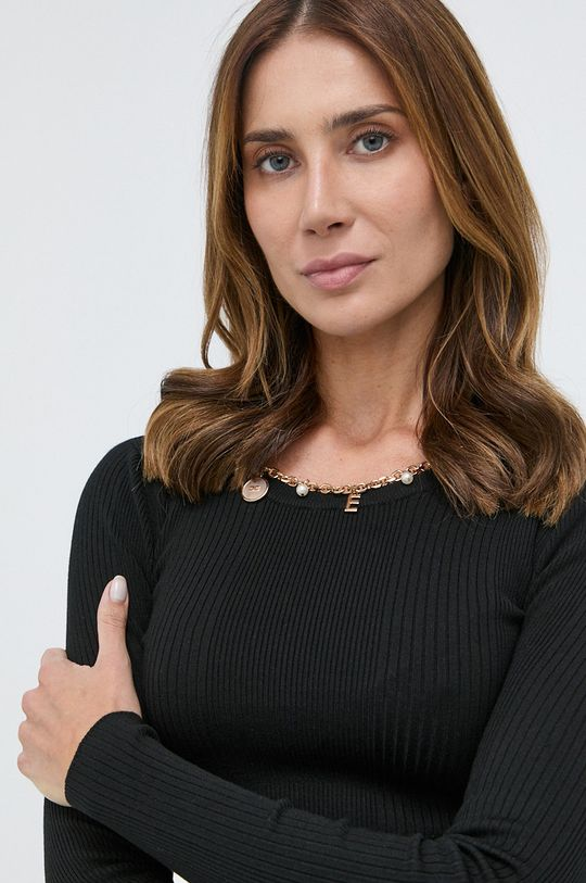 čierna Elisabetta Franchi - Sveter Dámsky