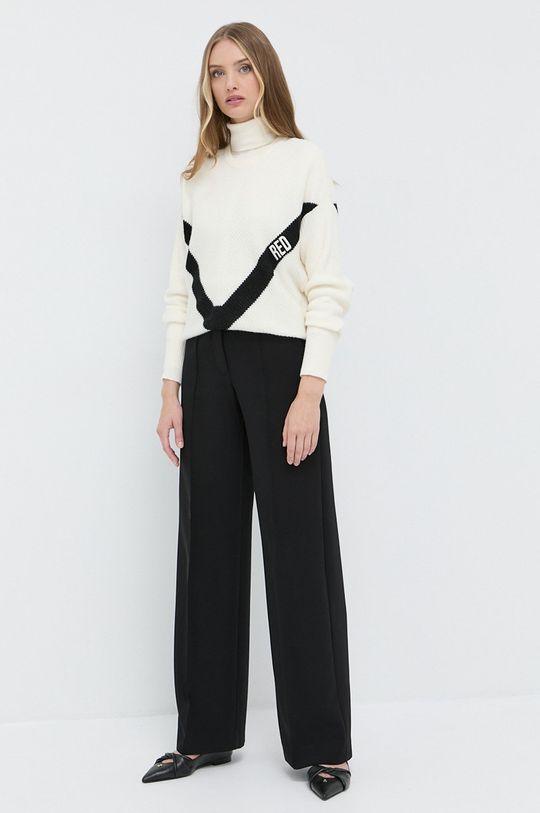 Lauren Ralph Lauren - Sweter kremowy