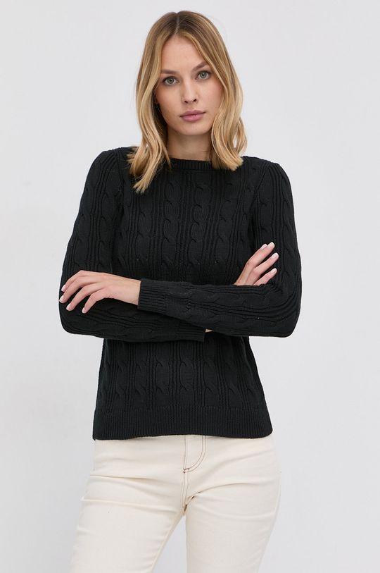 czarny Lauren Ralph Lauren - Sweter Damski