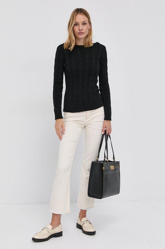 Lauren Ralph Lauren - Sweter czarny