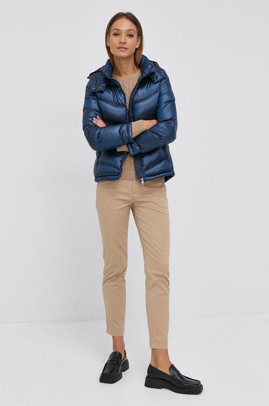 Lauren Ralph Lauren - Sweter bawełniany beżowy