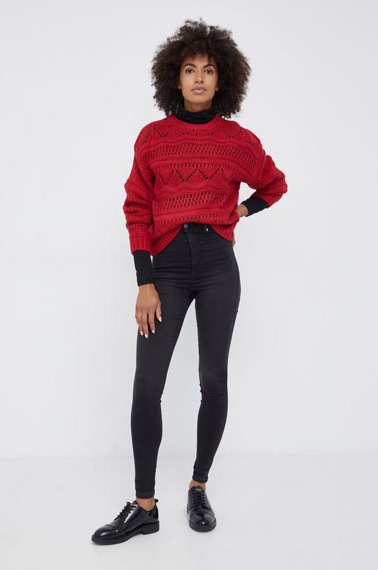 Pepe Jeans - Πουλόβερ Megan κόκκινο