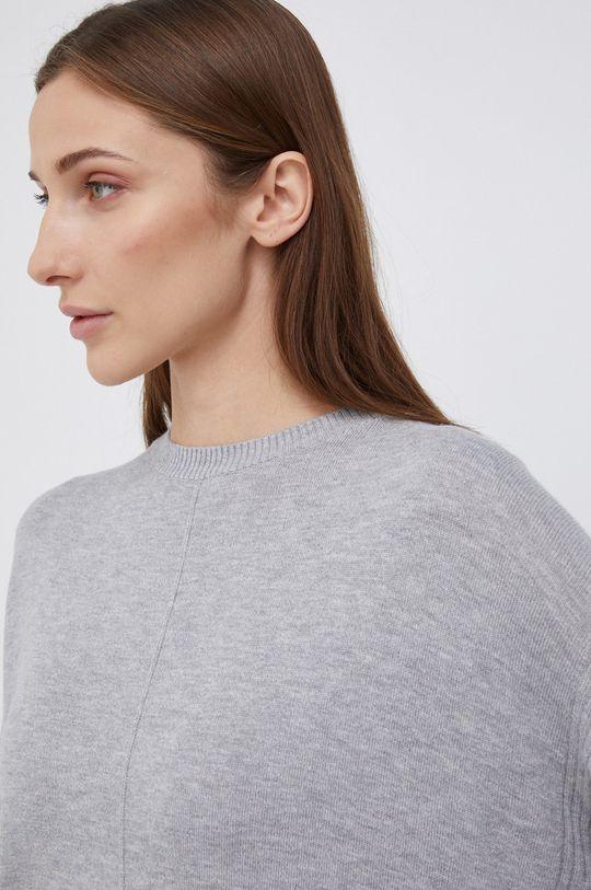 szary Pepe Jeans - Sweter z domieszką wełny Carol
