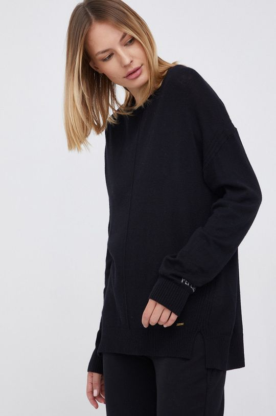 czarny Pepe Jeans - Sweter Carol Damski