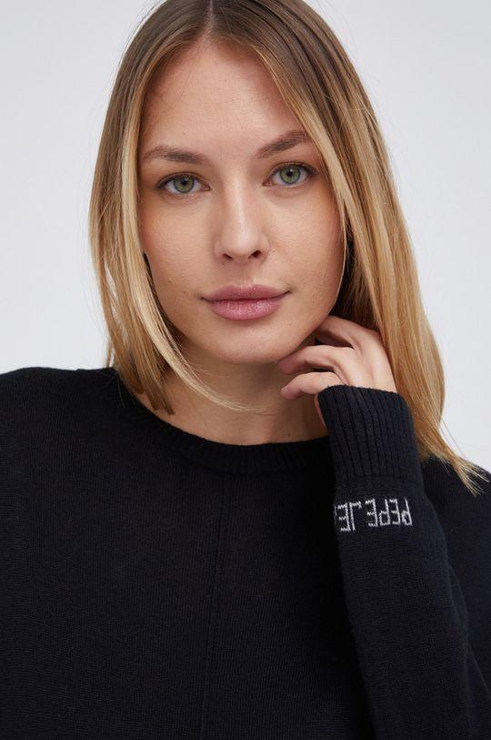 czarny Pepe Jeans - Sweter Carol