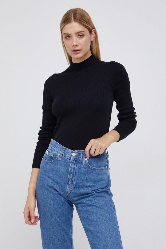 czarny Marc O'Polo - Sweter bawełniany Damski
