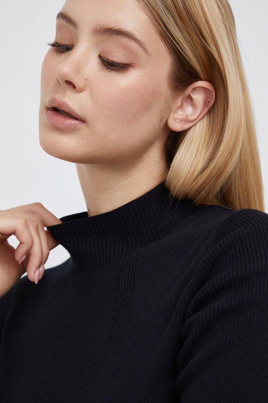 czarny Marc O'Polo - Sweter bawełniany