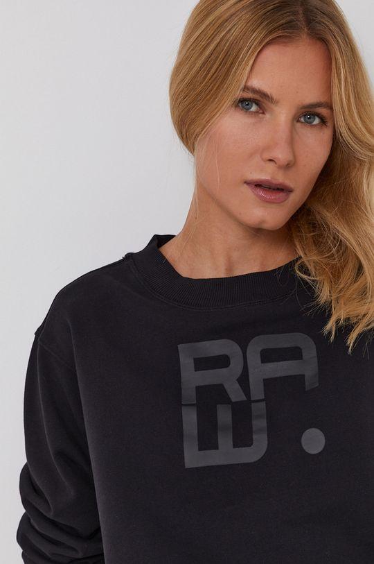 czarny G-Star Raw - Bluza bawełniana