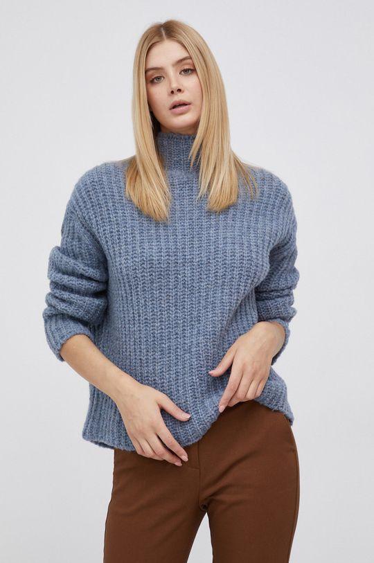niebieski Drykorn - Sweter wełniany Perima Damski