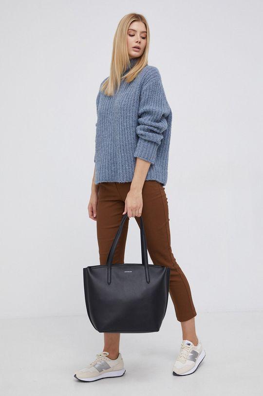 Drykorn - Sweter wełniany Perima niebieski