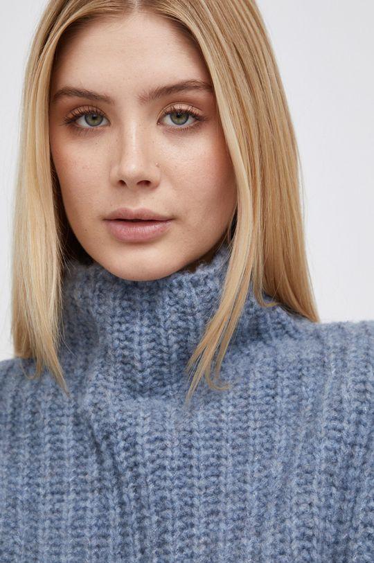 niebieski Drykorn - Sweter wełniany Perima