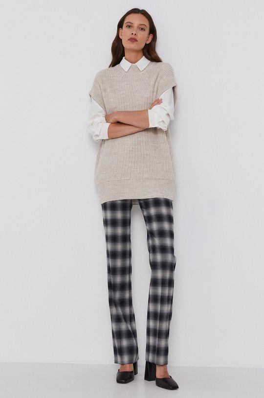 Drykorn - Vlnený sveter Tilani béžová