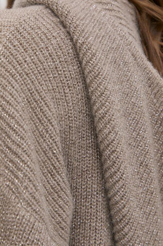 Morgan - Sweter z domieszką wełny MNINO Damski