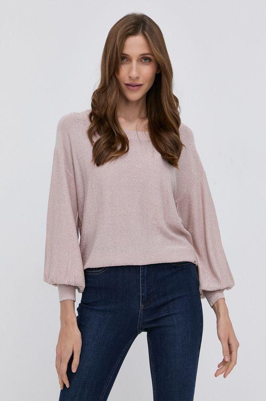 Morgan - Sweter różowy