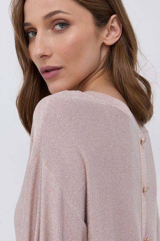 różowy Morgan - Sweter