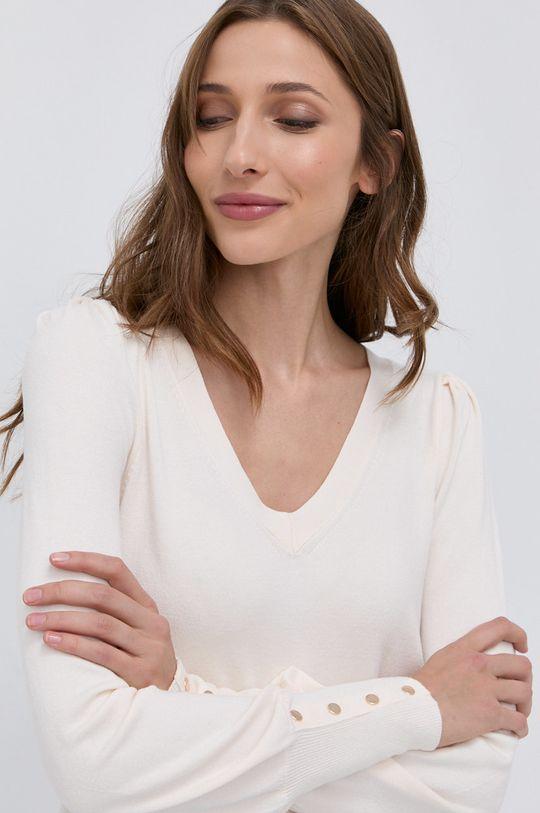 kremowy Morgan - Sweter