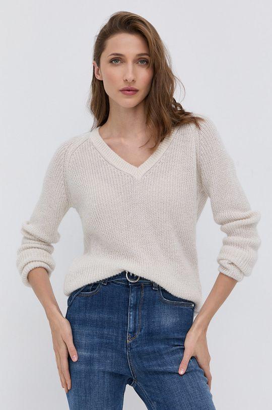 Morgan - Sweter z domieszką wełny Damski