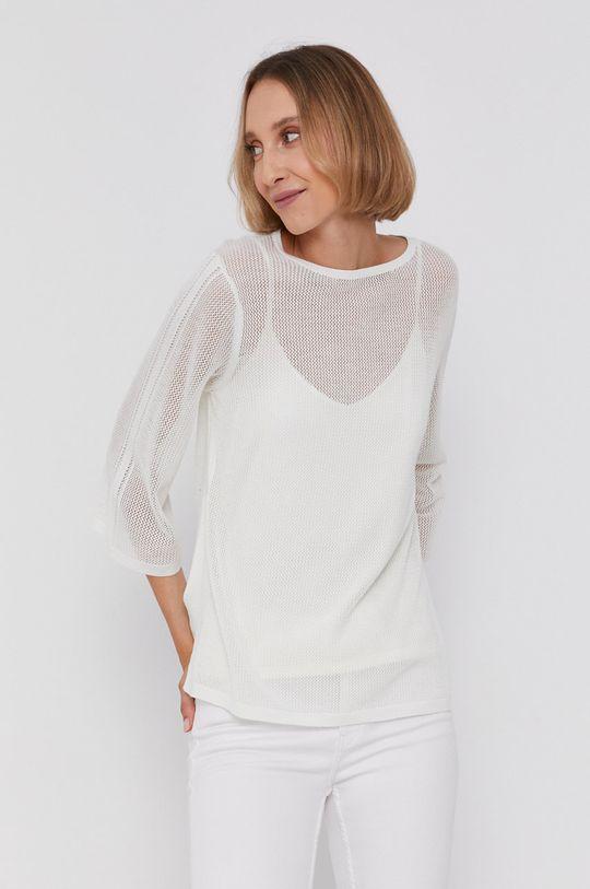 Calvin Klein - Sweter biały