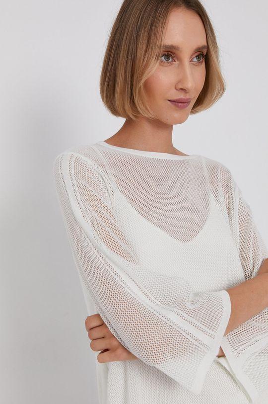 biały Calvin Klein - Sweter