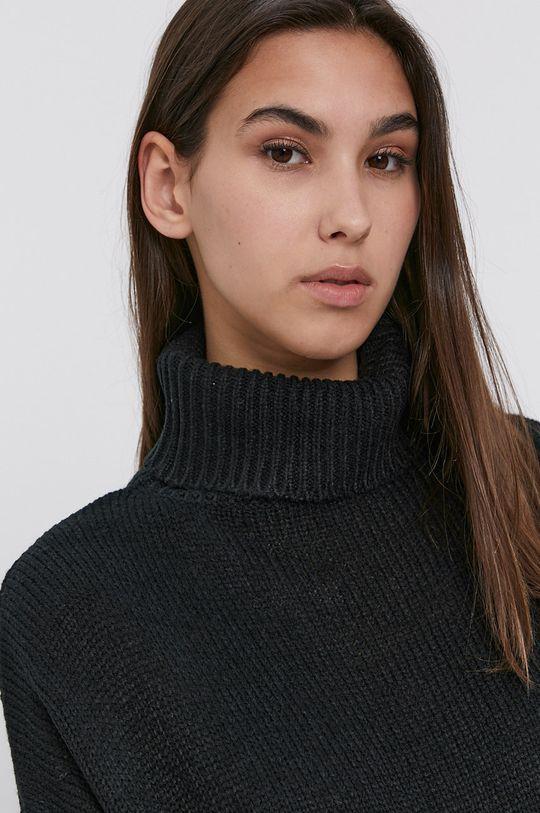 czarny Brave Soul - Sweter