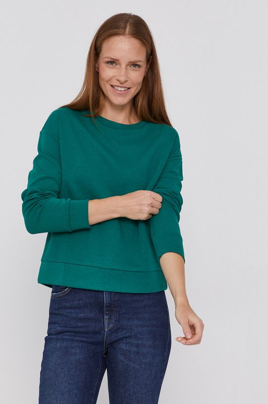 zelená United Colors of Benetton - Mikina Dámsky