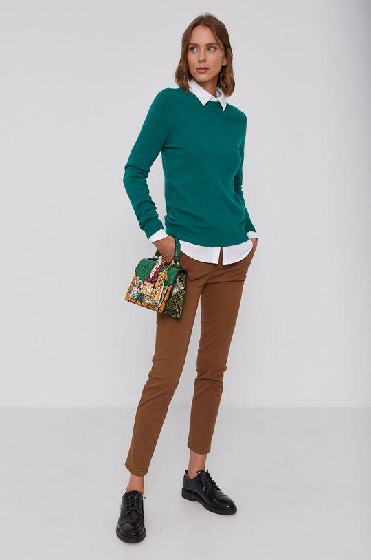 United Colors of Benetton - Pulover de lana verde