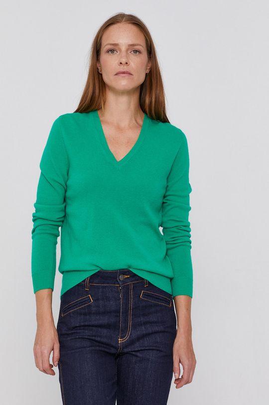 verde United Colors of Benetton - Pulover de lana