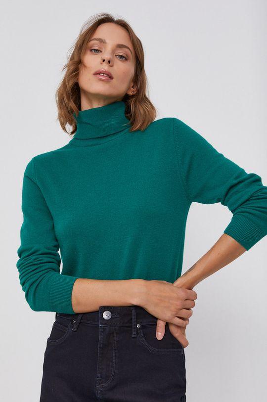 verde United Colors of Benetton - Pulover de lana De femei
