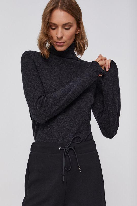 negru United Colors of Benetton - Pulover de lana De femei