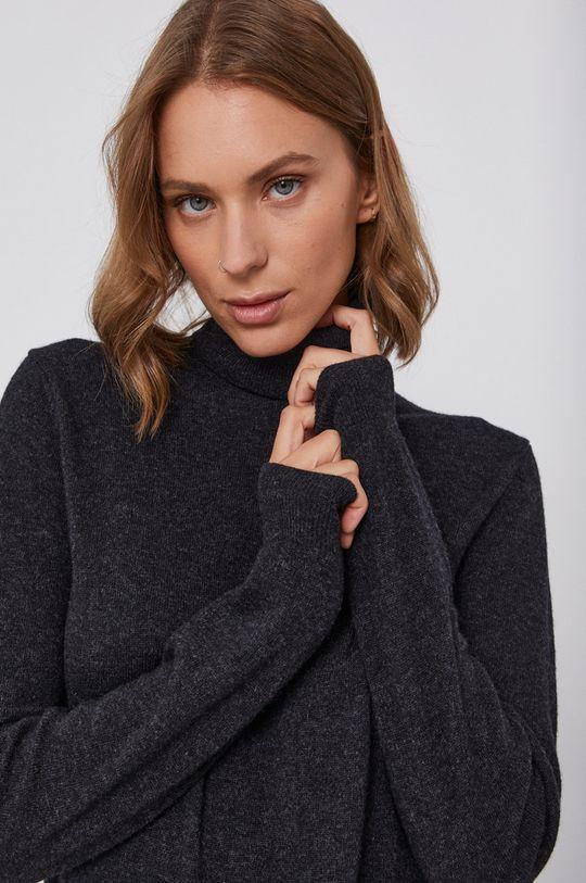 negru United Colors of Benetton - Pulover de lana
