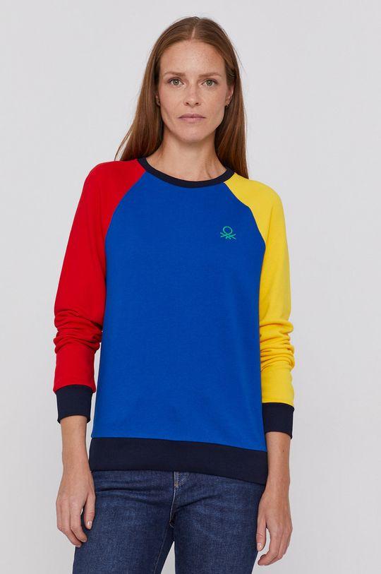 multicolor United Colors of Benetton - Hanorac de bumbac De femei