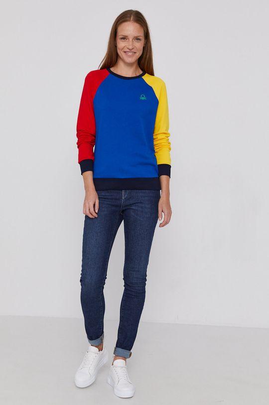 United Colors of Benetton - Hanorac de bumbac multicolor