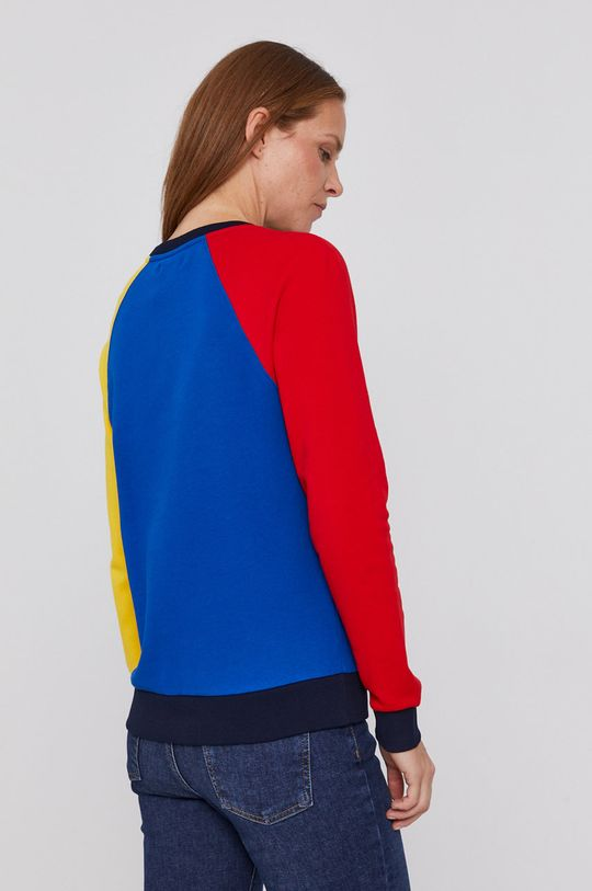 United Colors of Benetton - Hanorac de bumbac  Materialul de baza: 100% Bumbac Banda elastica: 96% Bumbac, 4% Elastan
