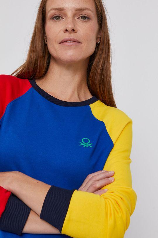 multicolor United Colors of Benetton - Hanorac de bumbac