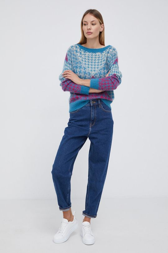 United Colors of Benetton - Sweter multicolor