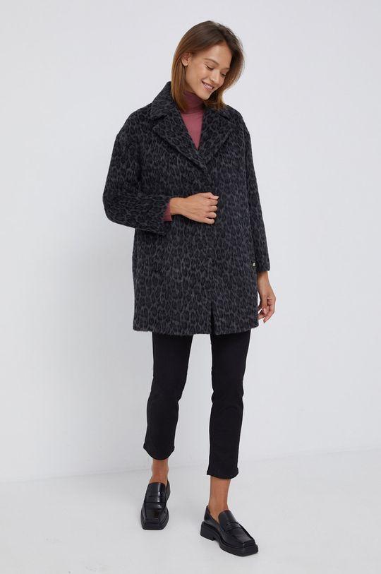 Sisley - Sweter ostry różowy