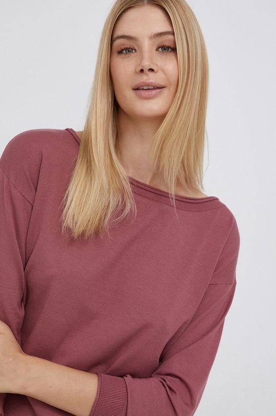 ostry różowy Sisley - Sweter