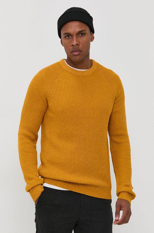 pomarańczowy Jack & Jones - Sweter Męski