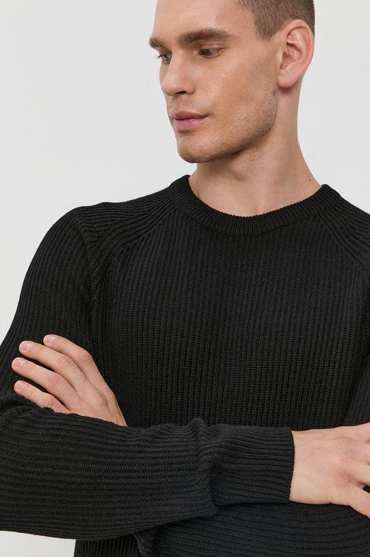 czarny Jack & Jones - Sweter