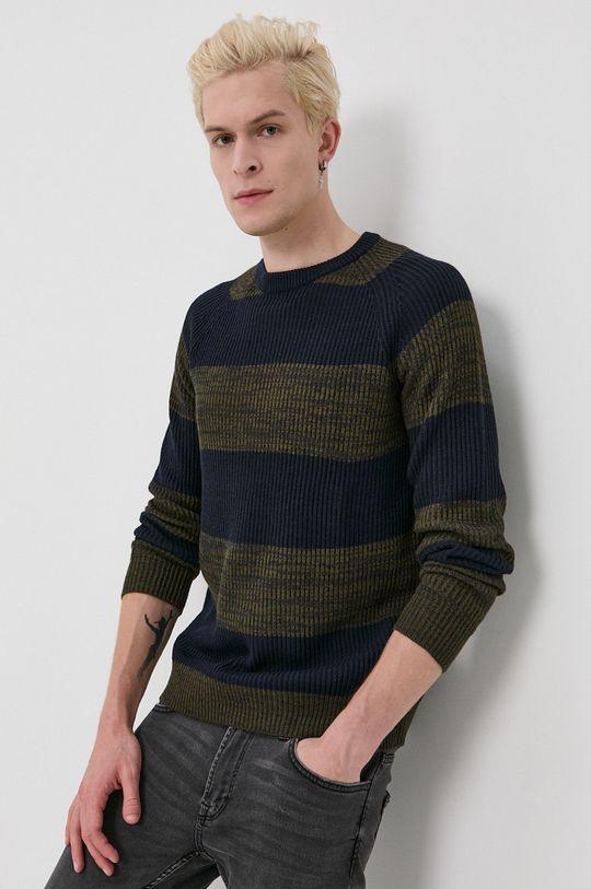 zielony Jack & Jones - Sweter