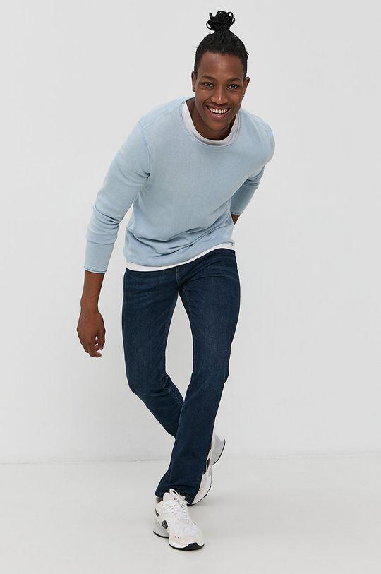 Produkt by Jack & Jones - Sweter jasny niebieski